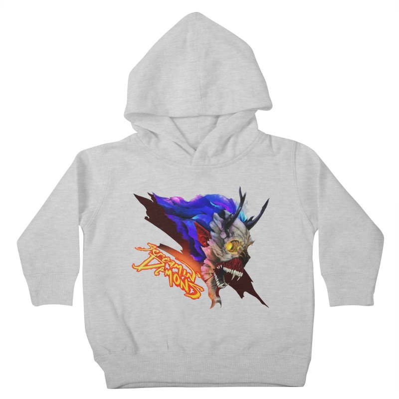 Screamin' Demons Kids Toddler Pullover Hoody by FunctionalFantasy Artist Shop
