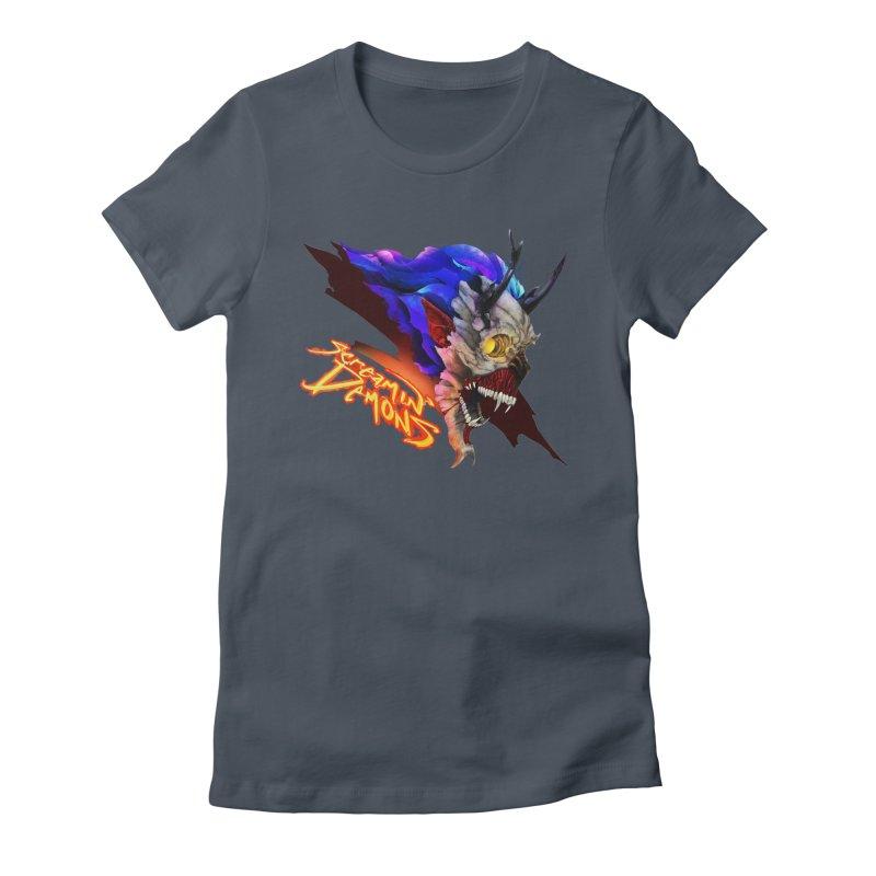 Screamin' Demons Women's T-Shirt by FunctionalFantasy Artist Shop