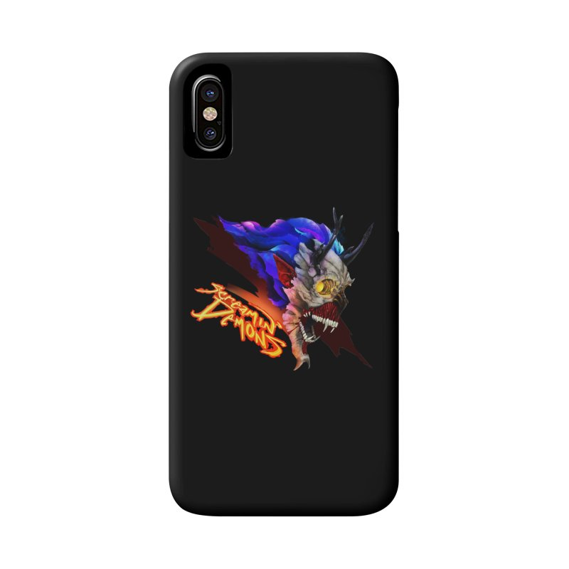 Screamin' Demons Accessories Phone Case by FunctionalFantasy Artist Shop