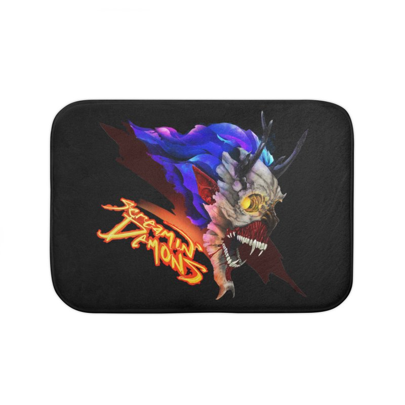 Screamin' Demons Home Bath Mat by FunctionalFantasy Artist Shop
