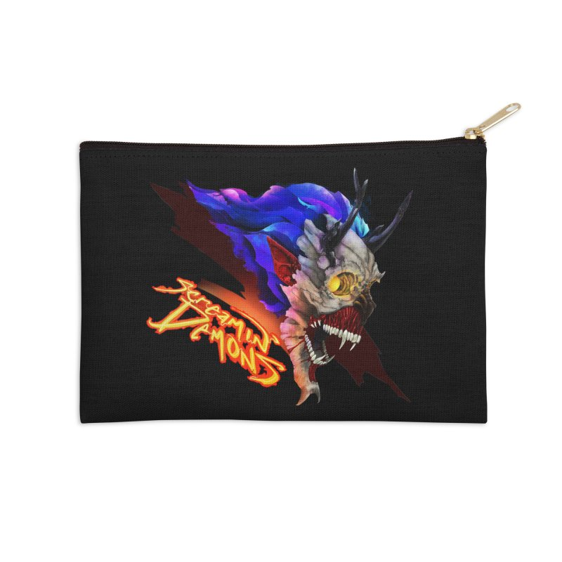 Screamin' Demons Accessories Zip Pouch by FunctionalFantasy Artist Shop
