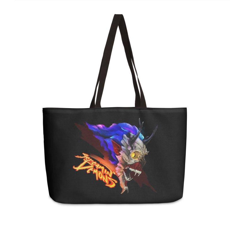 Screamin' Demons Accessories Weekender Bag Bag by FunctionalFantasy Artist Shop
