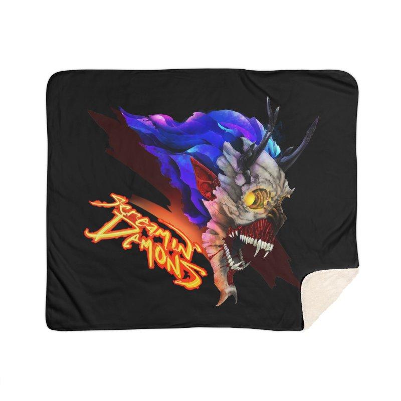 Screamin' Demons Home Blanket by FunctionalFantasy Artist Shop