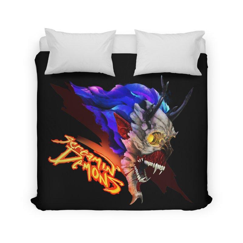 Screamin' Demons Home Duvet by FunctionalFantasy Artist Shop