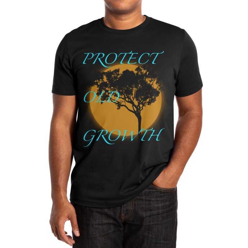 Protect Old Growth Men's T-Shirt by Furious Label