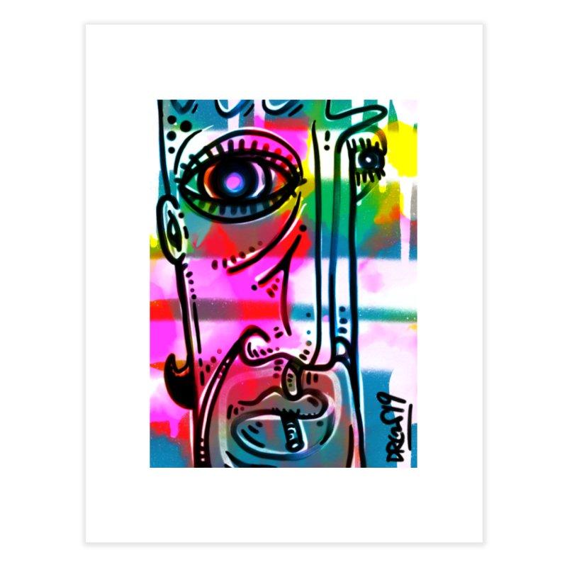 Spray It To Say It Home Fine Art Print by Fuzzy Poet's Artist Shop