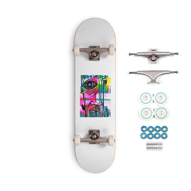 Spray It To Say It Accessories Complete - Basic Skateboard by Fuzzy Poet's Artist Shop