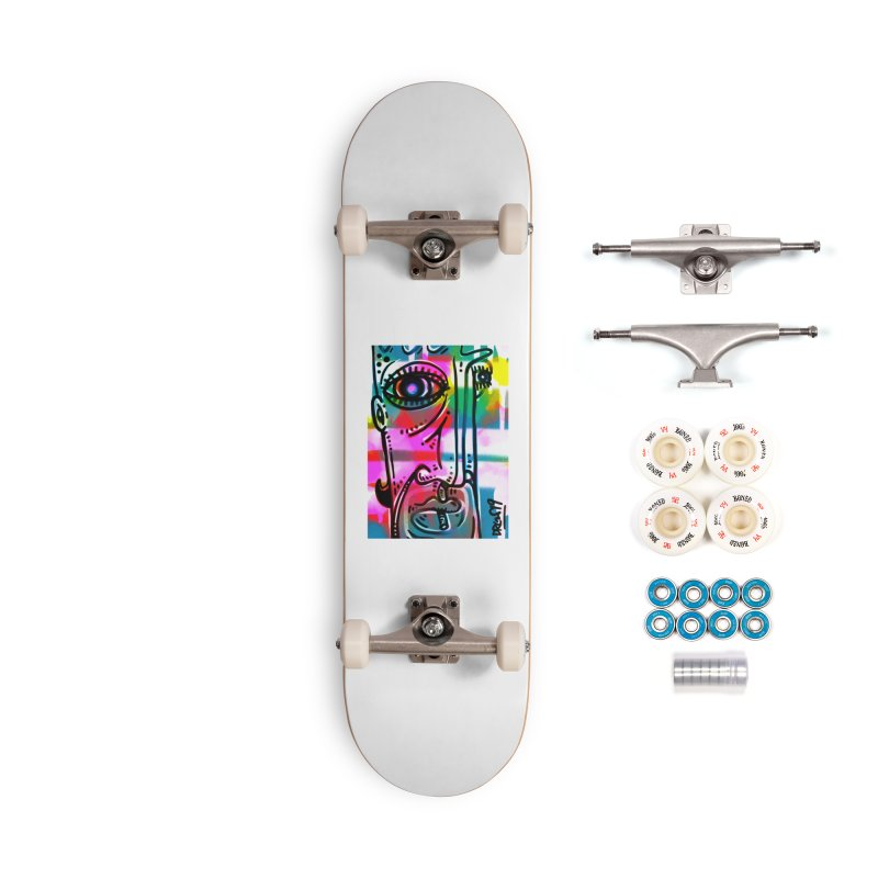 Spray It To Say It Accessories Skateboard by Sophisticated Lowbrow Art For The Discerning Masse