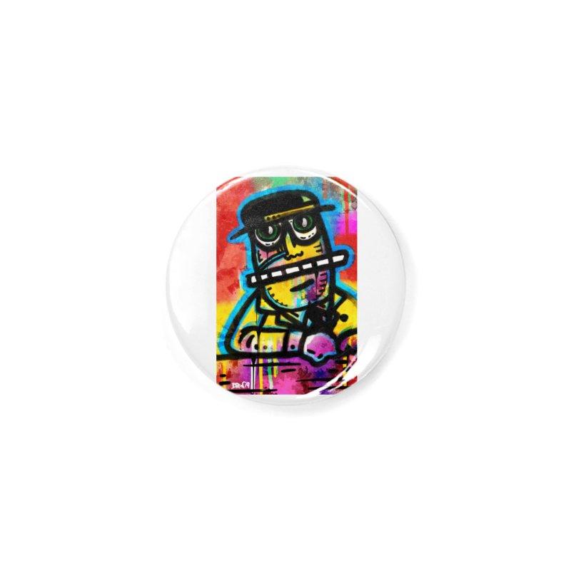 Fedora Dude Accessories Button by Fuzzy Poet's Artist Shop