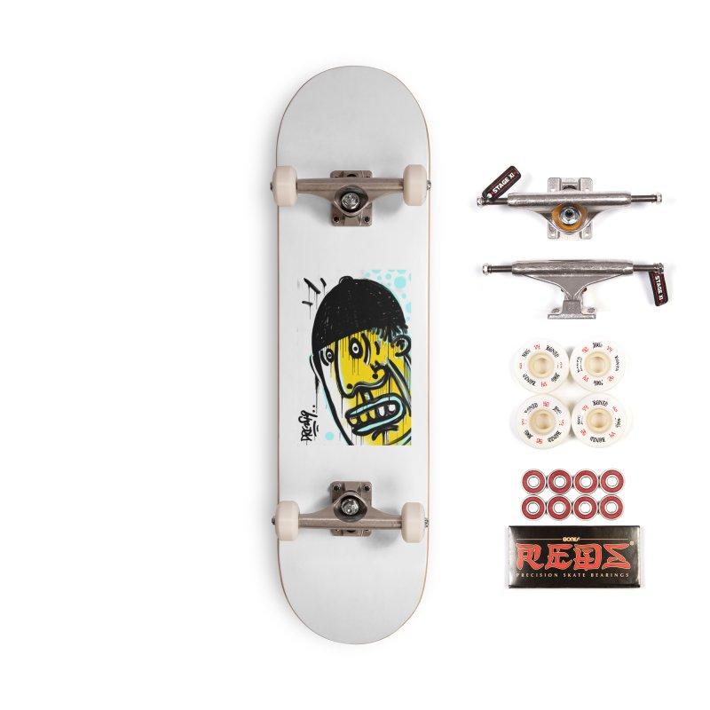 Beanie Drip Accessories Complete - Pro Skateboard by Fuzzy Poet's Artist Shop