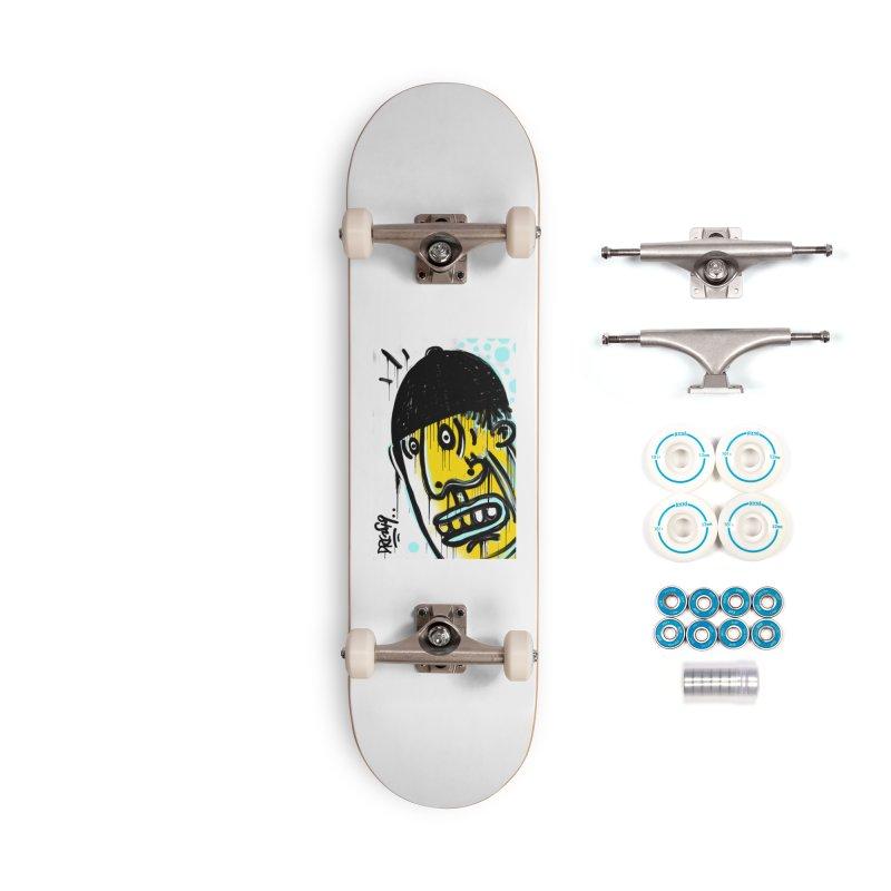 Beanie Drip Accessories Complete - Basic Skateboard by Fuzzy Poet's Artist Shop