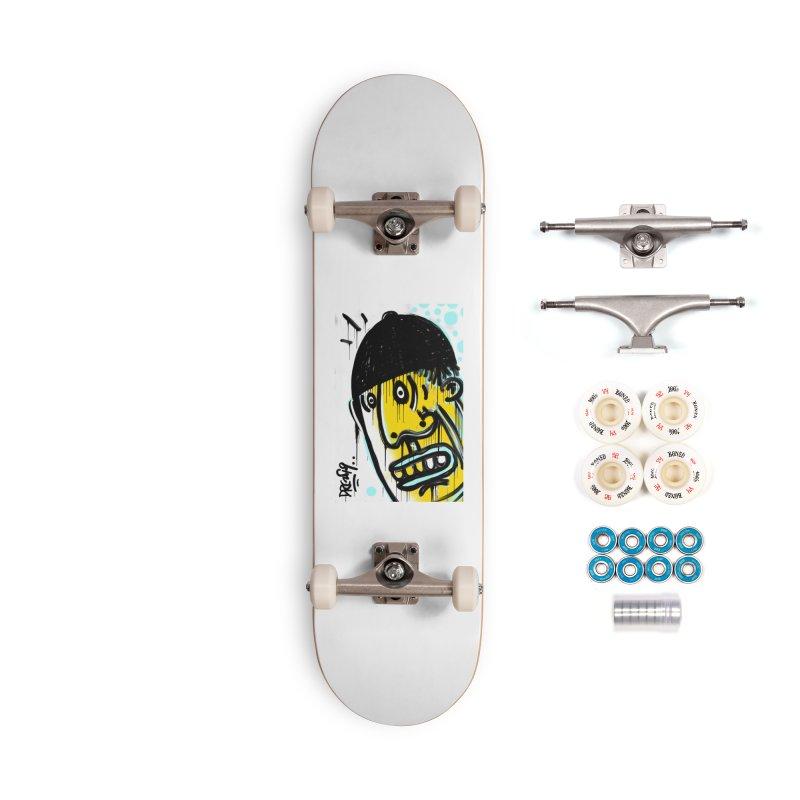 Beanie Drip Accessories Complete - Premium Skateboard by Fuzzy Poet's Artist Shop