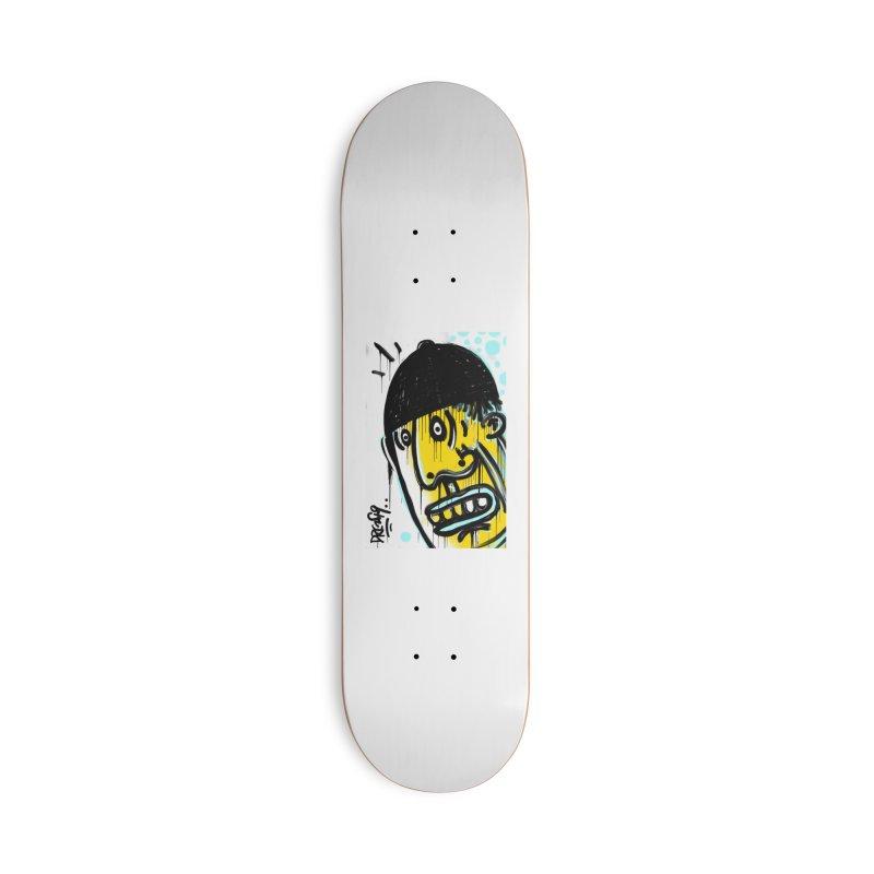 Beanie Drip Accessories Deck Only Skateboard by Fuzzy Poet's Artist Shop