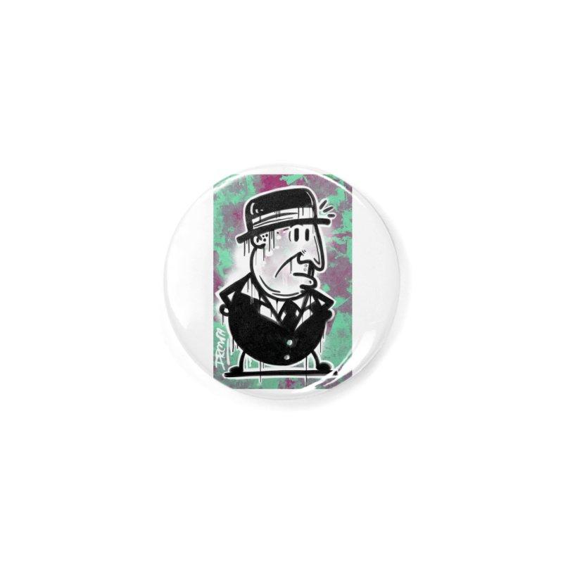 Top Hat Accessories Button by Fuzzy Poet's Artist Shop