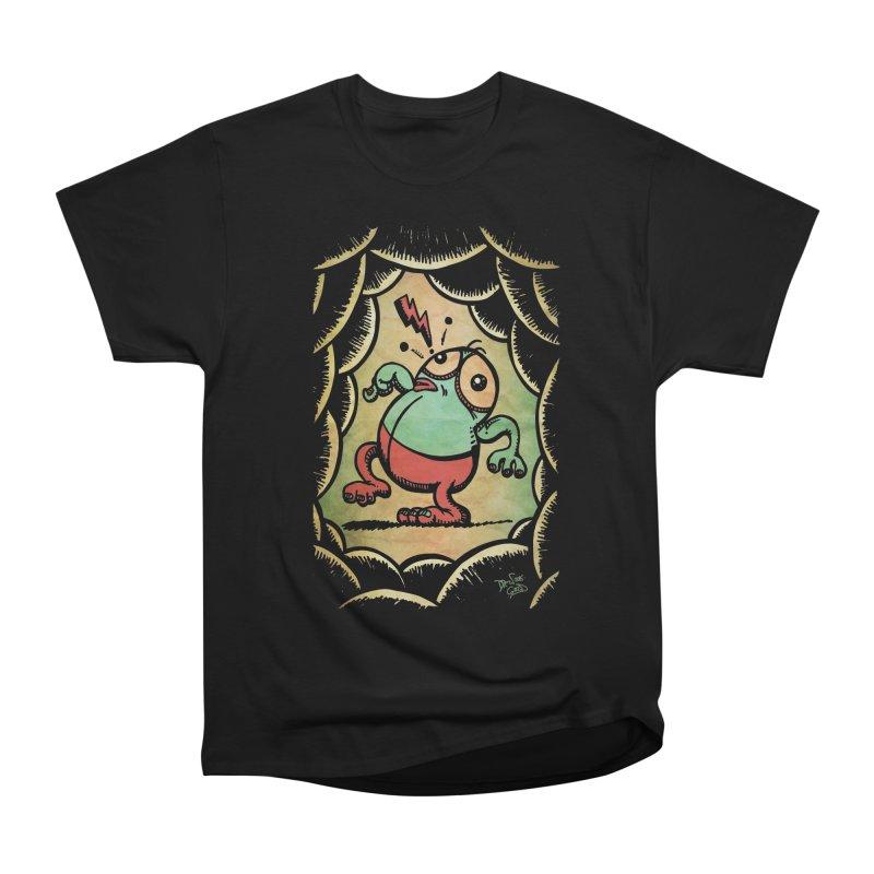 Tiptoe Through The Meanies Women's Heavyweight Unisex T-Shirt by Fuzzy Poet's Artist Shop