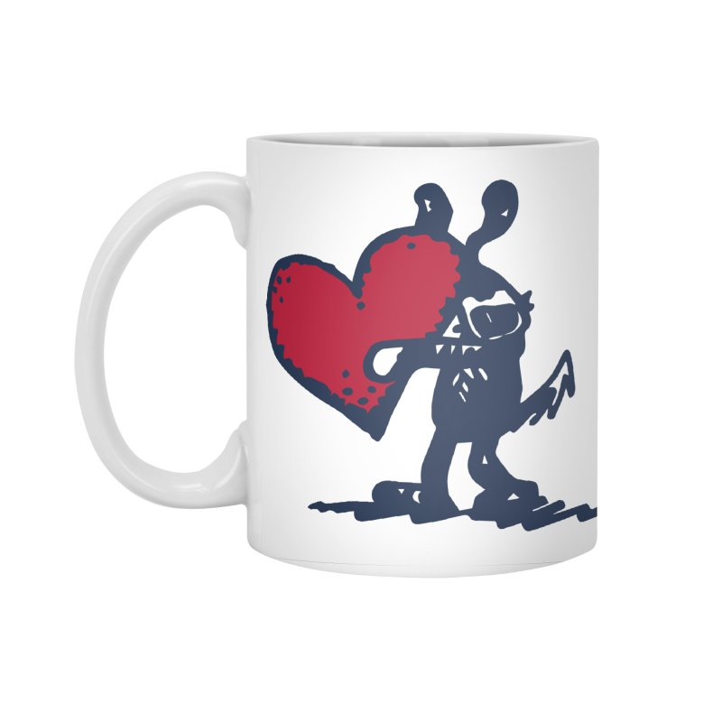 Made With Love Accessories Mug by Sophisticated Lowbrow Art For The Discerning Masse