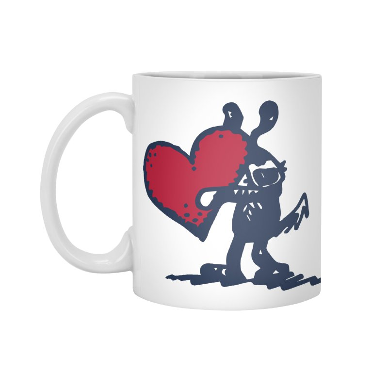Made With Love Accessories Standard Mug by Fuzzy Poet's Artist Shop