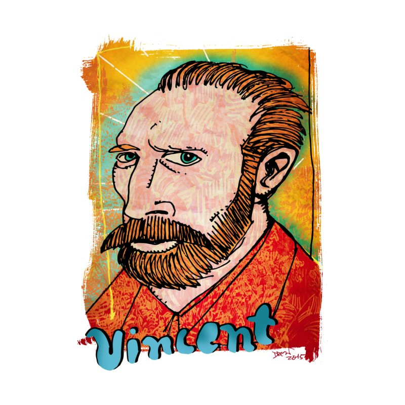 Vincent by Fuzzy Poet's Artist Shop