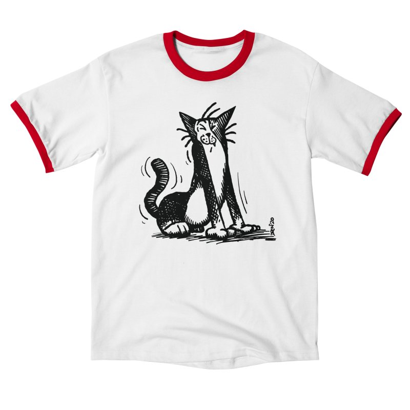 Stretch! Women's T-Shirt by Sophisticated Lowbrow Art For The Discerning Masse