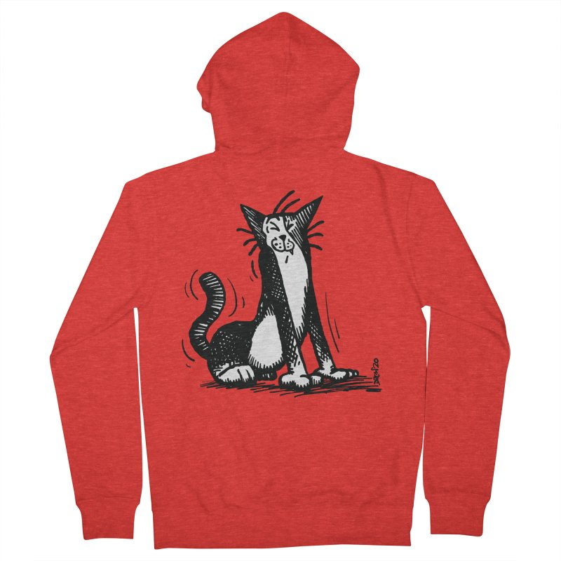 Stretch! Women's Zip-Up Hoody by Sophisticated Lowbrow Art For The Discerning Masse