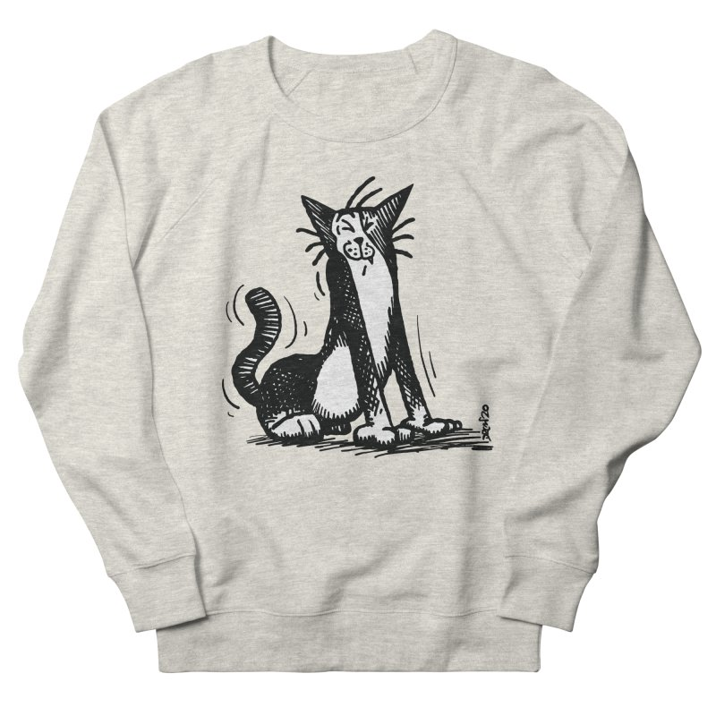 Stretch! Men's Sweatshirt by Sophisticated Lowbrow Art For The Discerning Masse
