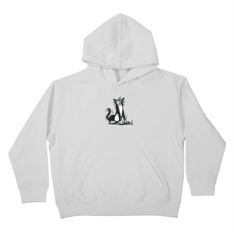 Stretch! Kids Pullover Hoody by Sophisticated Lowbrow Art For The Discerning Masse
