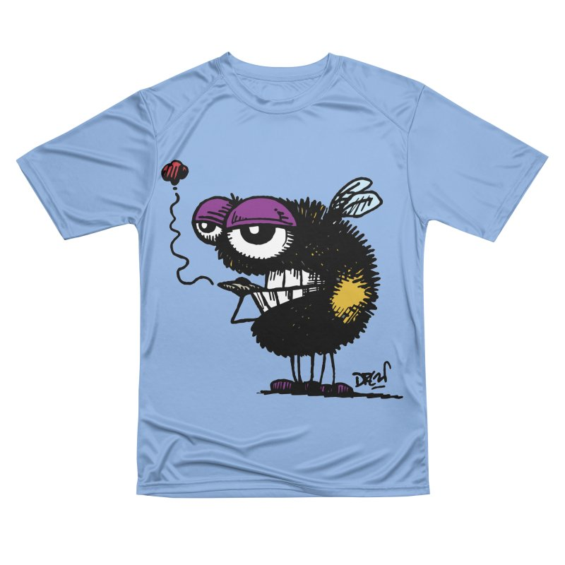 Weedy Bee Women's T-Shirt by Sophisticated Lowbrow Art For The Discerning Masse