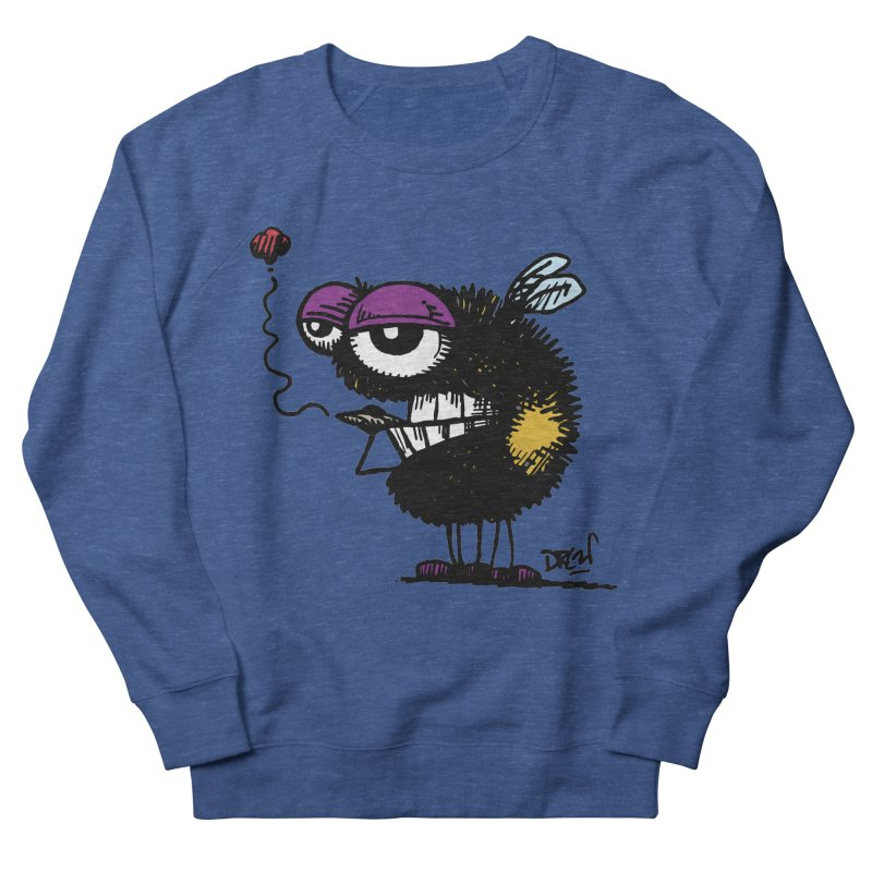 Weedy Bee Men's Sweatshirt by Sophisticated Lowbrow Art For The Discerning Masse
