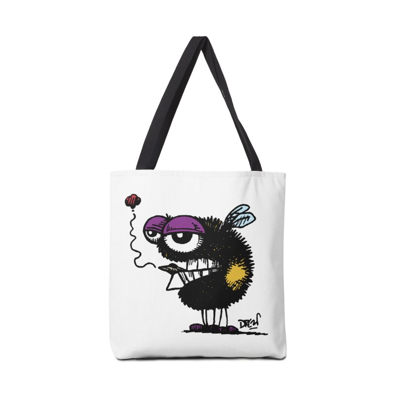 Weedy Bee Accessories Bag by Sophisticated Lowbrow Art For The Discerning Masse