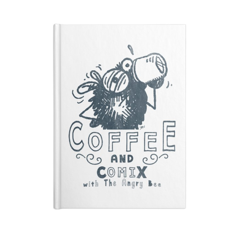 Coffee and Comix Accessories Notebook by Sophisticated Lowbrow Art For The Discerning Masse