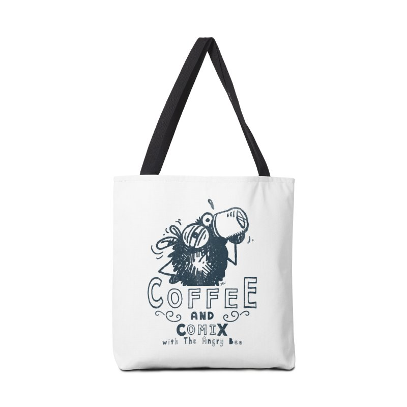 Coffee and Comix Accessories Bag by Sophisticated Lowbrow Art For The Discerning Masse