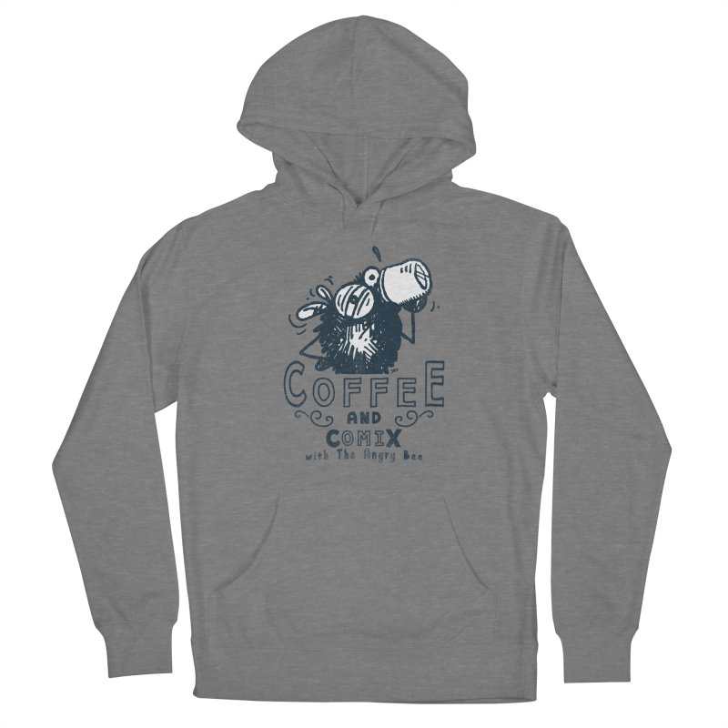 Coffee and Comix Women's Pullover Hoody by Sophisticated Lowbrow Art For The Discerning Masse