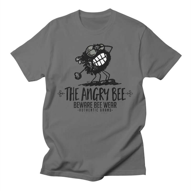 Beware Bee Ware Men's T-Shirt by Sophisticated Lowbrow Art For The Discerning Masse