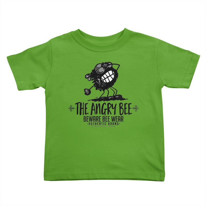 Beware Bee Ware Kids Toddler T-Shirt by Sophisticated Lowbrow Art For The Discerning Masse