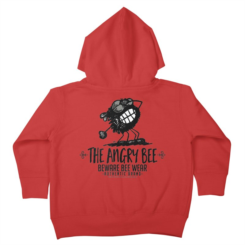 Beware Bee Ware Kids Toddler Zip-Up Hoody by Sophisticated Lowbrow Art For The Discerning Masse