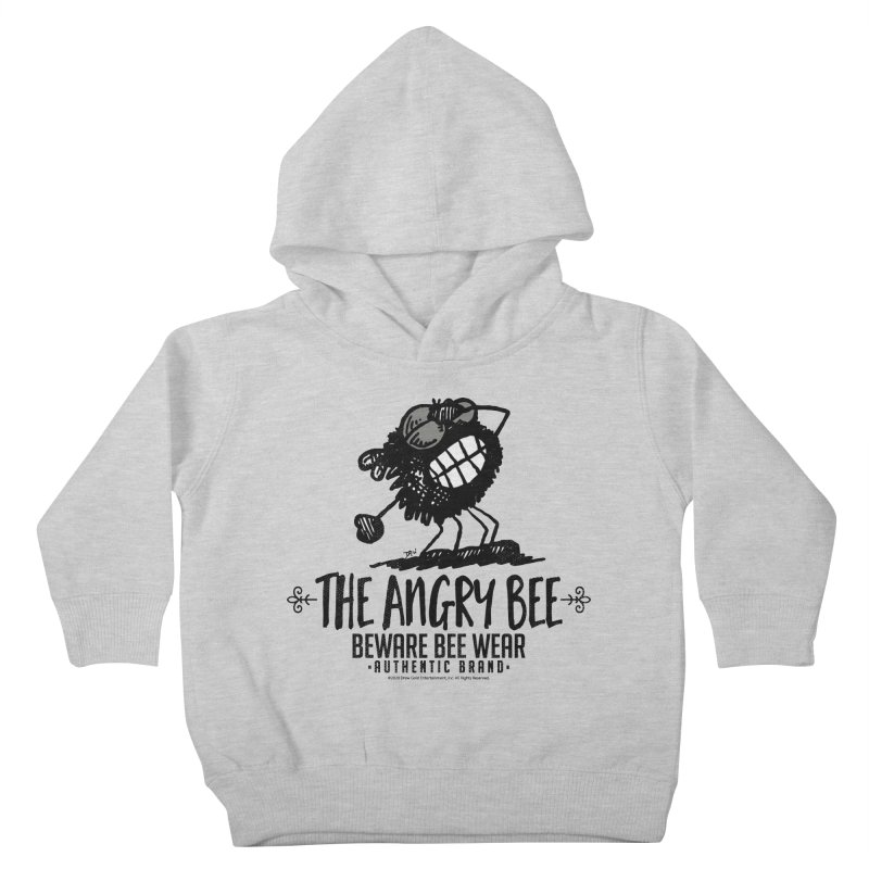 Beware Bee Ware Kids Toddler Pullover Hoody by Sophisticated Lowbrow Art For The Discerning Masse