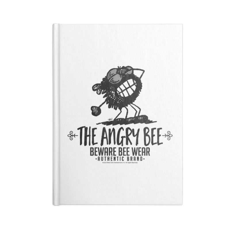 Beware Bee Ware Accessories Notebook by Sophisticated Lowbrow Art For The Discerning Masse