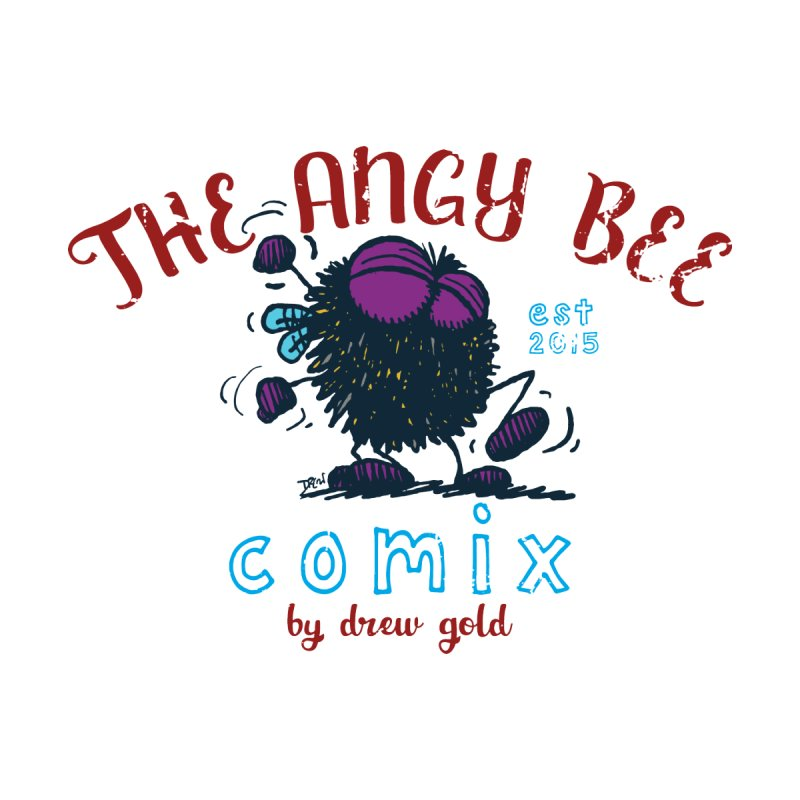 The Angry Bee Kids Toddler Zip-Up Hoody by Sophisticated Lowbrow Art For The Discerning Masse