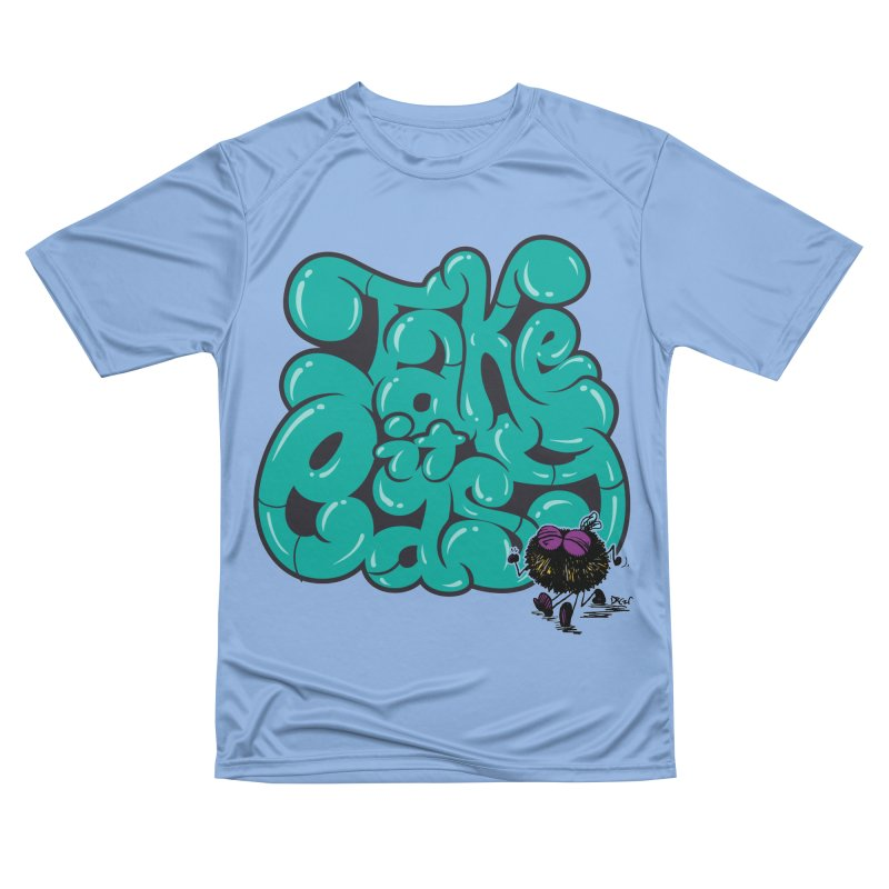 Take It Easy Women's T-Shirt by Sophisticated Lowbrow Art For The Discerning Masse