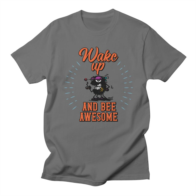 Bee Awesome Men's T-Shirt by Sophisticated Lowbrow Art For The Discerning Masse
