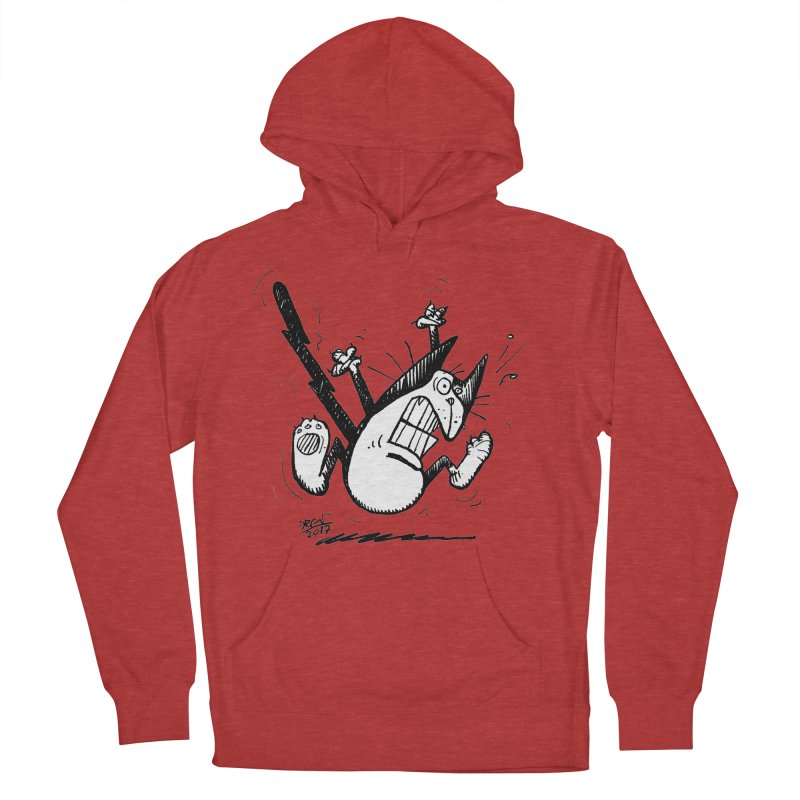 Zapped!!! Men's French Terry Pullover Hoody by Fuzzy Poet's Artist Shop