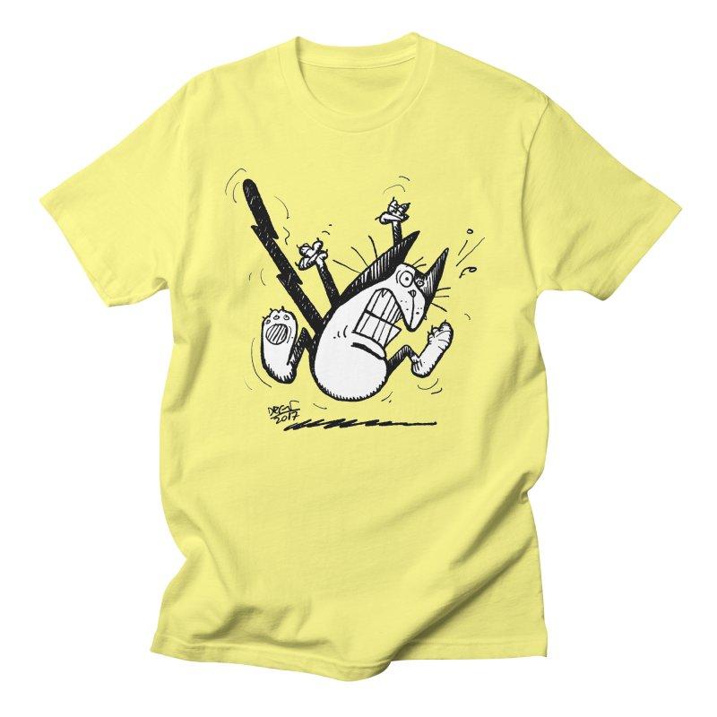 Zapped!!! Men's Regular T-Shirt by Fuzzy Poet's Artist Shop