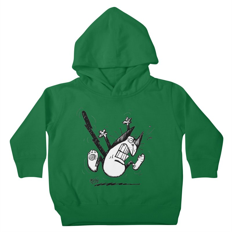 Zapped!!! Kids Toddler Pullover Hoody by Fuzzy Poet's Artist Shop