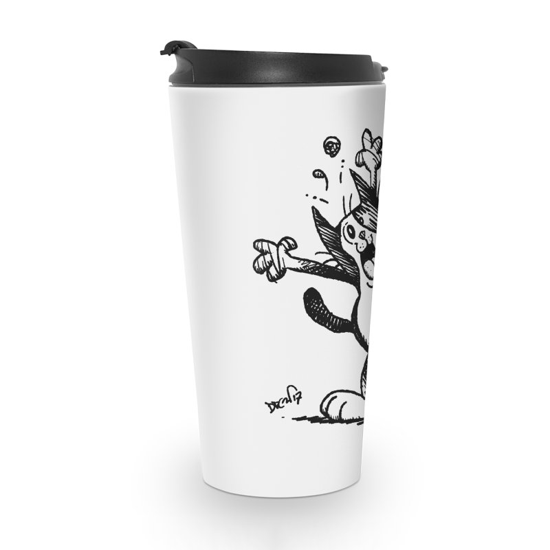 Here I Yam Accessories Travel Mug by Fuzzy Poet's Artist Shop