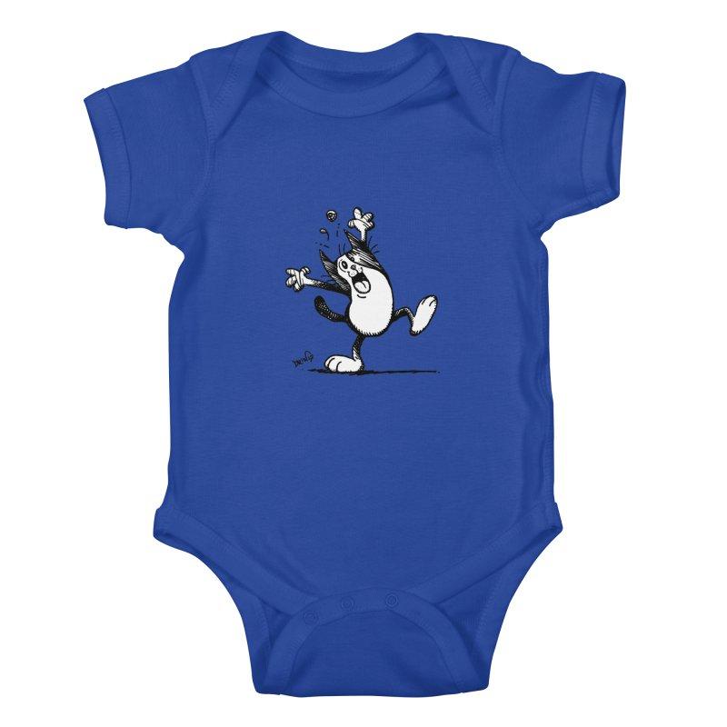 Here I Yam Kids Baby Bodysuit by Fuzzy Poet's Artist Shop