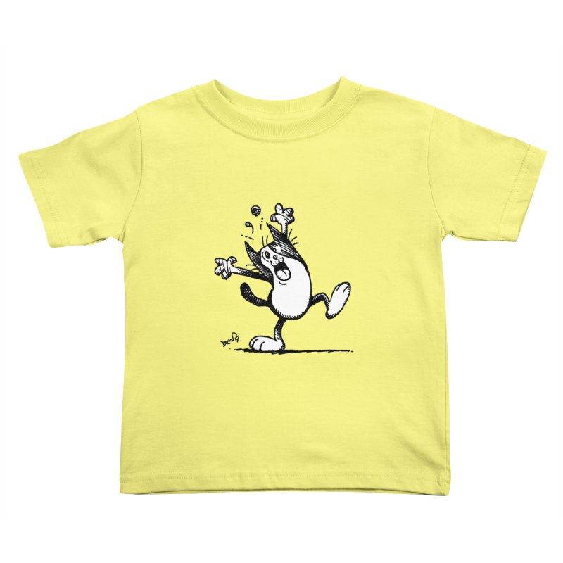Here I Yam Kids Toddler T-Shirt by Fuzzy Poet's Artist Shop