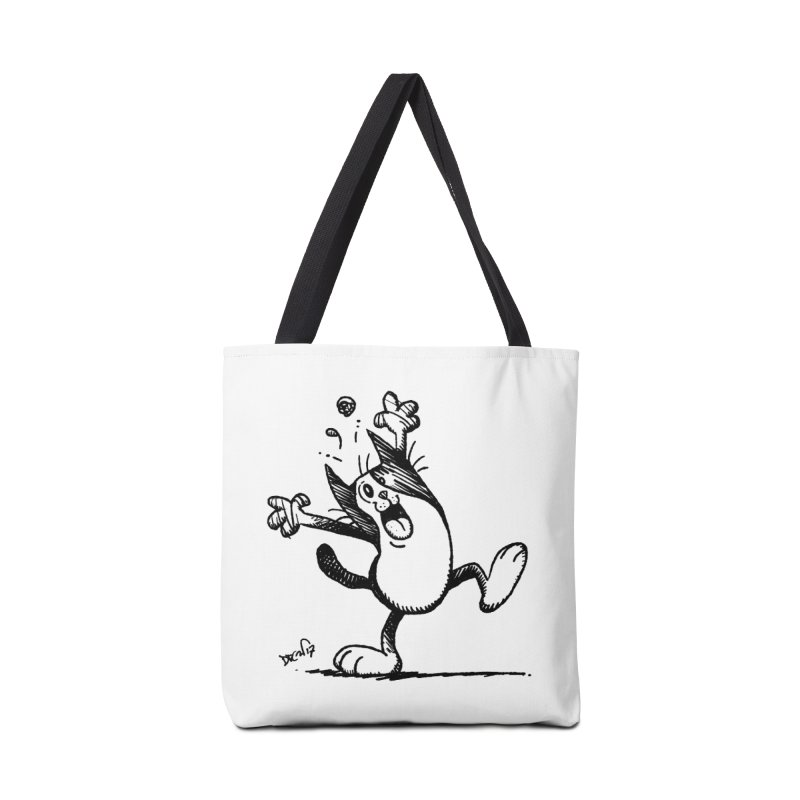 Here I Yam Accessories Tote Bag Bag by Fuzzy Poet's Artist Shop