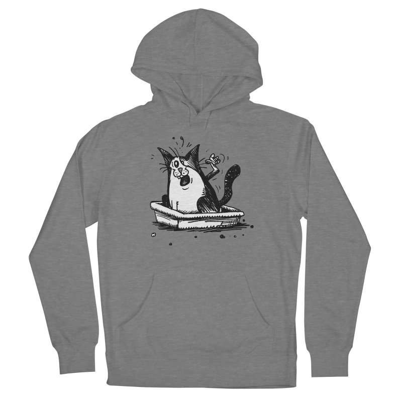Litterbox! Women's Pullover Hoody by Sophisticated Lowbrow Art For The Discerning Masse