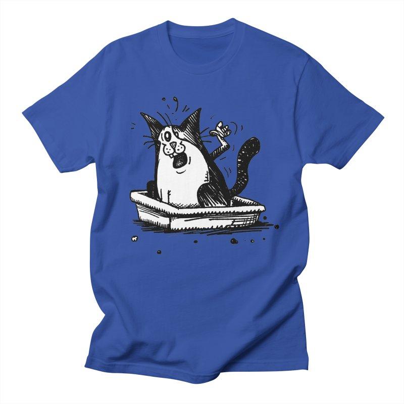 Litterbox! Women's Regular Unisex T-Shirt by Fuzzy Poet's Artist Shop