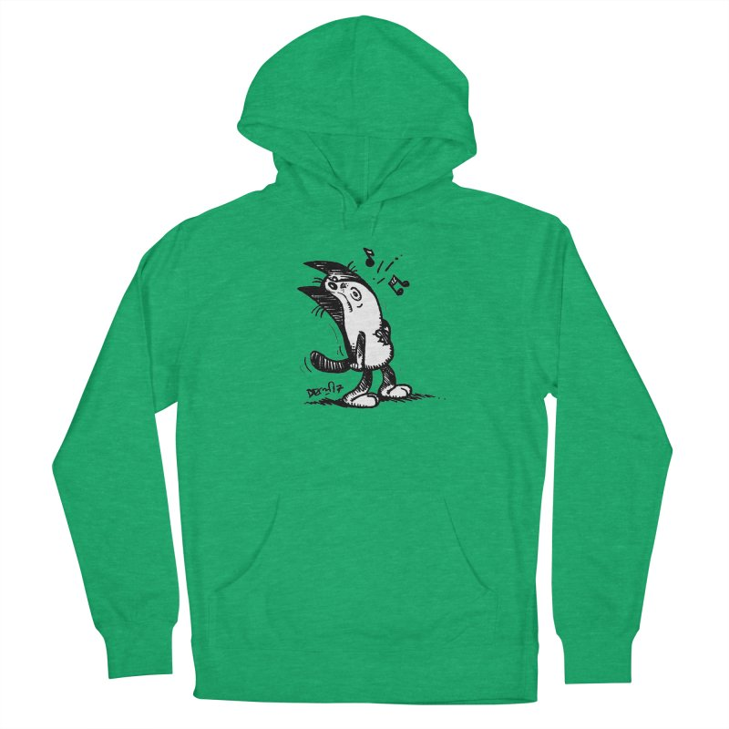 Whistle Proudly Men's French Terry Pullover Hoody by Fuzzy Poet's Artist Shop